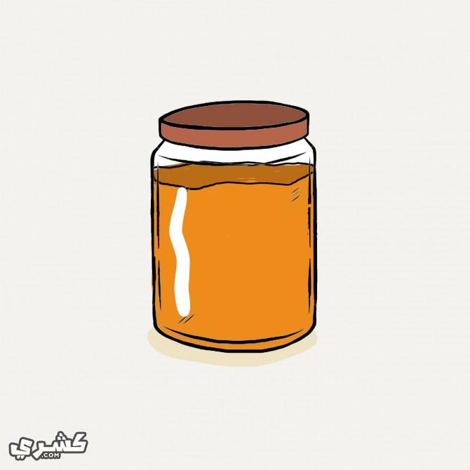 استخدم الأواني الزجاجية أو الفخارية