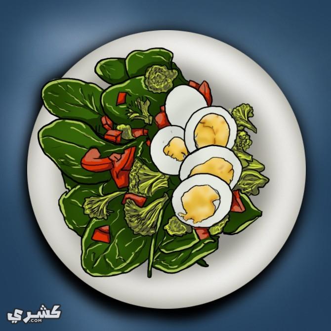 تناول الطعام الصحي