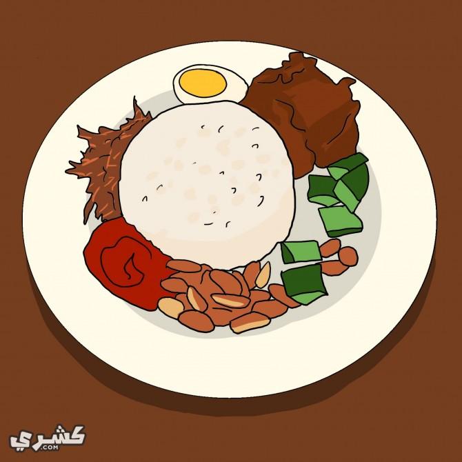 قسم افطارك الى 2 او 3 وجبات
