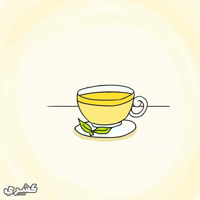 تناول شاي الليمون