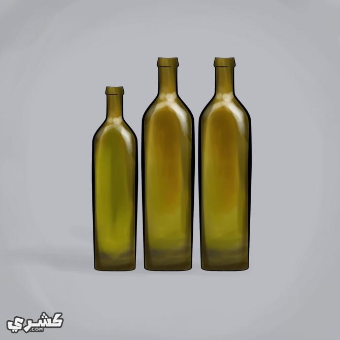اختر زجاجات معتمة