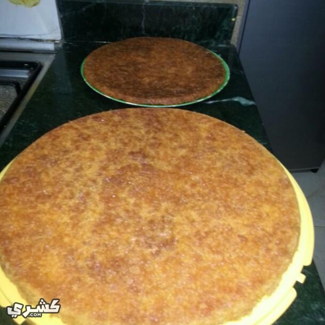 اخبزي طبقتي الكنافة