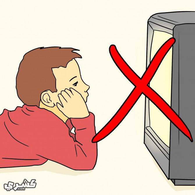 حدّ من مشاهدة التلفزيون