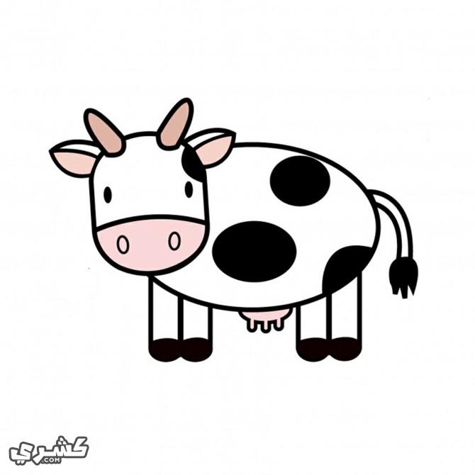 لون البقرة