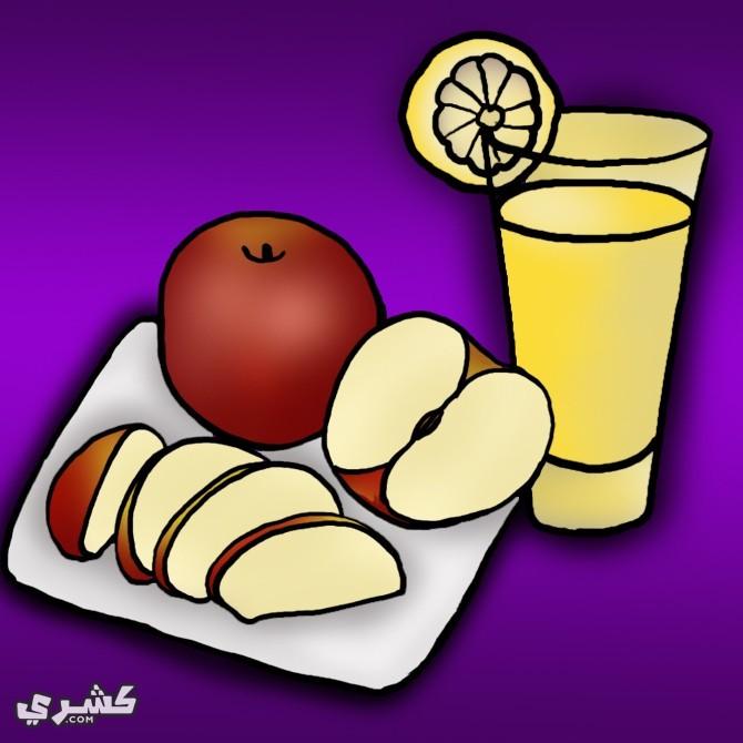 استخدمي عصير الليمون