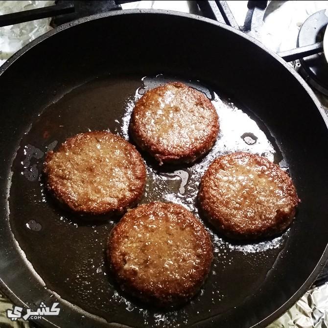 اطبخي البرجر