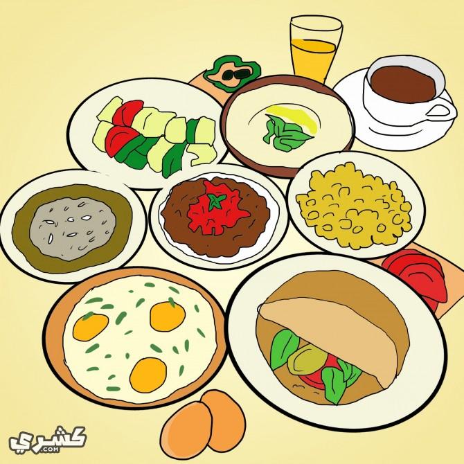تناول وجبة سحور متنوعة