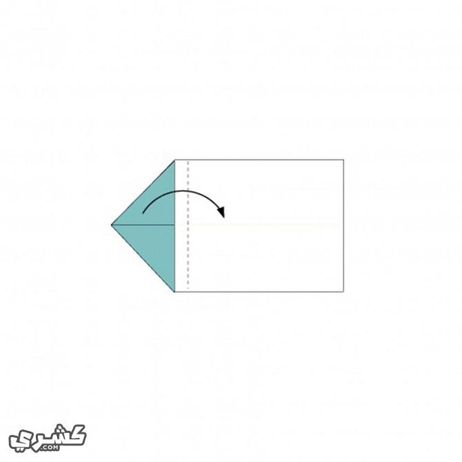 قم بطي الورقة