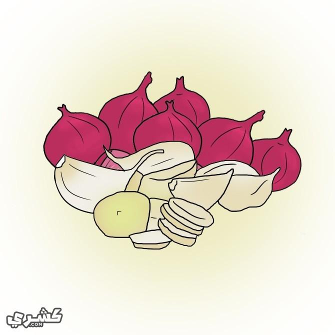 تجنب الأكلات المحتوية على الثوم أو البصل