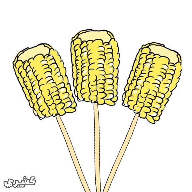 قطعي الذرة و قدميها
