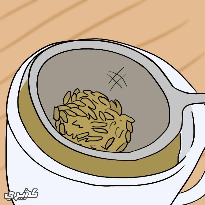تناول شاي بذور الشمر