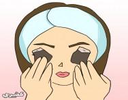 كيف تتخلصين من انتفاخ العين