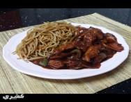 طريقة عمل دجاج على الطريقة الصينية sweet and sour chicken