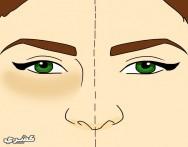 كيف تتخلصين من الهالات السوداء تحت العين
