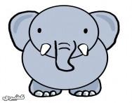 كيف ترسم فيل بالخطوات والصور