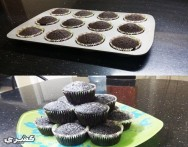 طريقة عمل كب كيك بالشوكولاتة