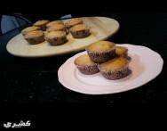 طريقة عمل كب كيك الفانيليا vanilla cupcake