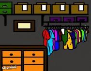 كيف تقومين بتخزين الملابس