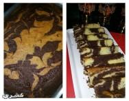 طريقة عمل كيك رخامي Marble cake